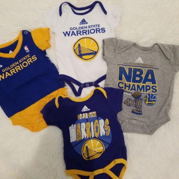 the best attitude 1e491 dce76 Baby onesie Golden State Warriors